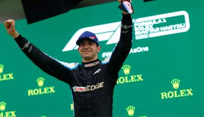 GP de Hongrie: le Français Esteban Ocon dans l'Olympe de la F1
