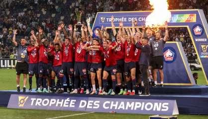 Trophée des champions: Lille détrône à nouveau le Paris SG