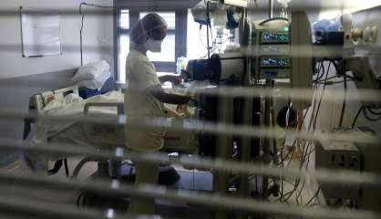 Covid-19: la pression sur les hôpitaux continue à monter