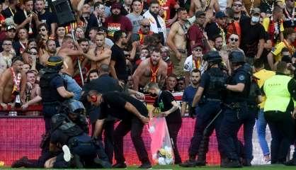 Foot: au moins 2 matches de Lens à huis clos après les heurts contre Lille