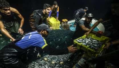 En mer, la nuit, avec les pêcheurs de Gaza sous blocus