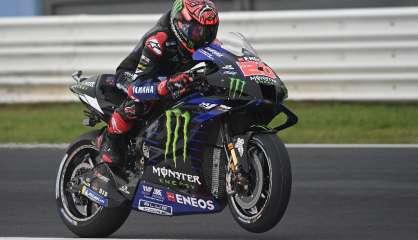 Quartararo, premier champion français en MotoGP, entre dans l'histoire