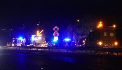Double collision sur la voie express : huit blessés évacués au Médipôle