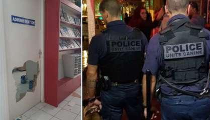 Deux cambrioleurs délogés de Radio Djiido par les chiens de la police