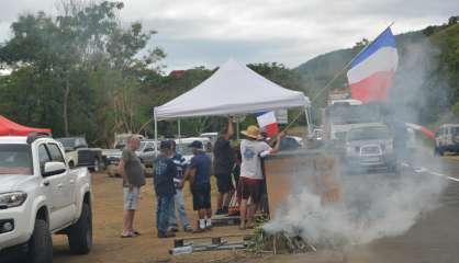 À Bourail, loyalistes et manifestants de l'Ican positionnés au Sud et au Nord du village