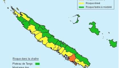 Risque de feu de forêt très élevé sur Nouméa et Païta