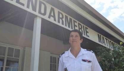 La capitaine Lydia Windstein a pris le commandement de la gendarmerie de Dumbéa