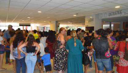 Païta : énorme succès pour les portes ouvertes de l'aéroport
