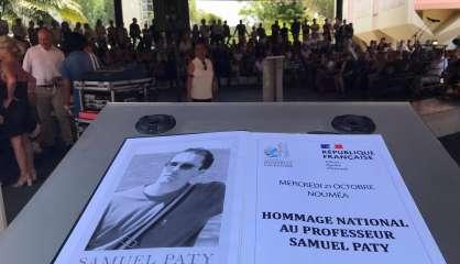 [VIDÉO] Hommage à Samuel Paty au collège de Magenta