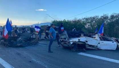 Vale : à Païta, manifestants et contre-manifestants
