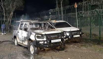 Kouaoua: plusieurs véhicules volés et incendiés sur la mine SLN