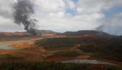 Le site minier de Goro de nouveau touché par des incendies