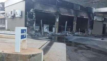 Incendie de la station-service de La Coulée: un mineur mis en examen