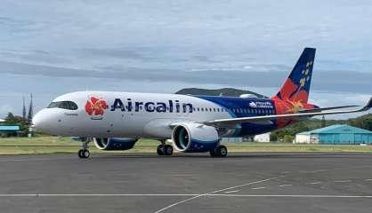 Le nouvel A320néo d'Aircalin a atterri à La Tontouta