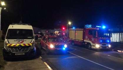 Circulation perturbée après une collision entre trois véhicules Faubourg-Blanchot
