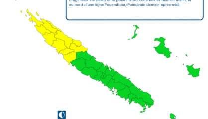 De nouvelles inondations entre Poum et Koumac