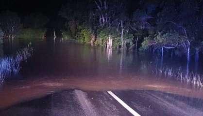 Inondations: RT1 coupée entre Poum et Koumac