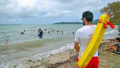 Dumbéa: baignade et pêche interdites plage de Nouré