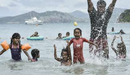 [VIDÉO] Nouméa Plage s'est installé au Kuendu Beach