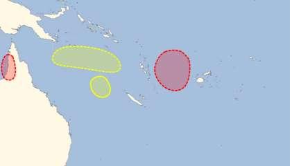 Des dépressions tropicales à surveiller dans le Pacifique