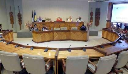 L'assemblée de province Nord sans le groupe UC-FLNKS