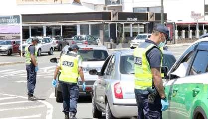 Confinement: entre 15 000 et 450 000 francs d'amende en cas de non-respect