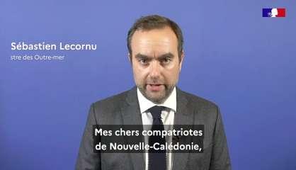 Sébastien Lecornuréaffirme le soutien de l'État aux Calédoniens