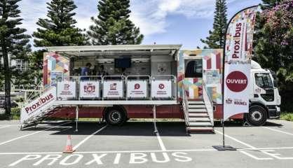 Le Proxibus de retour à Nouméa