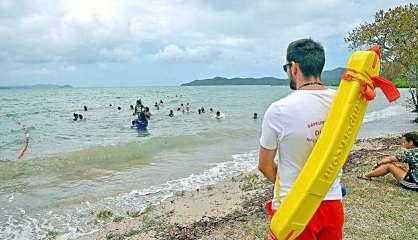 Dumbéa: la baignade de nouveau autorisée plage de Nouré