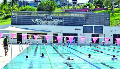Le centre aquatique de Dumbéa fermé au public ce week-end