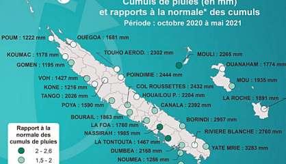 La Niña: une saison exceptionnellement pluvieuse