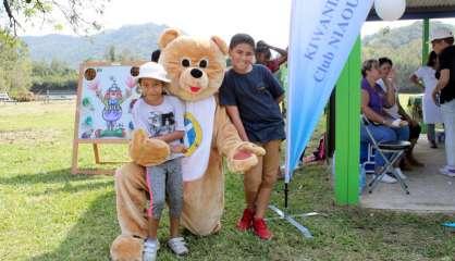Le pique-nique Teddy Bear accueille les enfants au parc Fayard jusqu'à 15heures