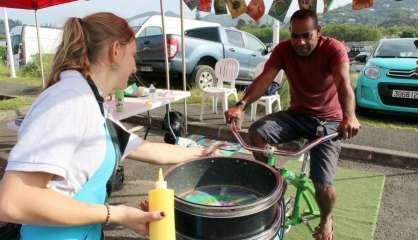 Mont-Dore: les vélos insolites, une vraie réussite au marché spécial environnement