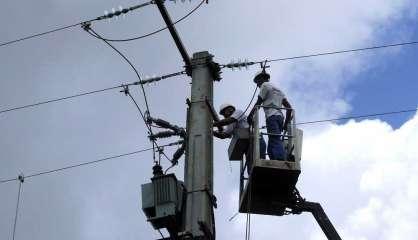 L'éléctricité coupée dans la moitié nord du pays