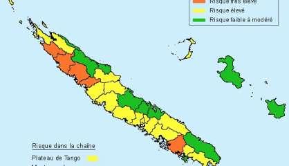 Cinq communes en risque très élevé de feu de forêt