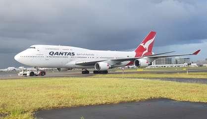 Le dernier Boeing 747 de Qantas quitte l'Australie, ce mercredi