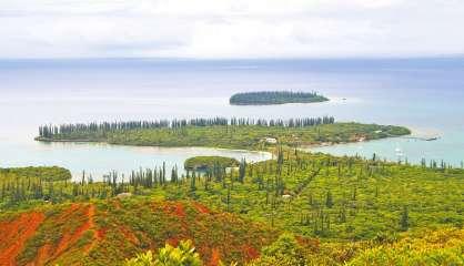 L'île des Pins en vigilance jaune « forte houle »