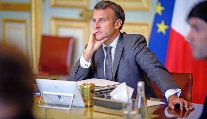 Référendum : Emmanuel Macron s'exprimera au terme du scrutin