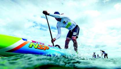 Stand up paddle : Titouan Puyo champion de France longue distance