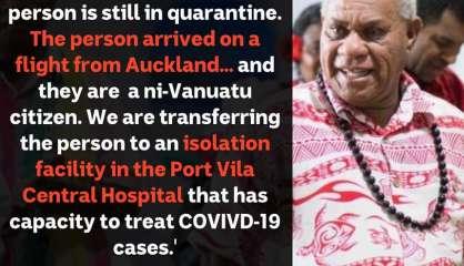 Premier cas de Covid au Vanuatu
