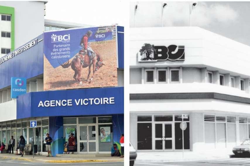 L'agence de la Victoire est ouverte en 1992 et accueille le siège de la banque en 1994. Entre ces deux dates, douze agences de Nouméa et de Brousse sont ouvertes.