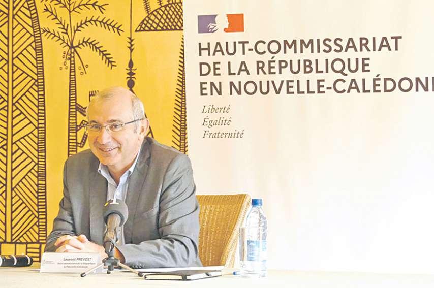 Le haut-commissaire, Laurent Prévost, a détaillé les différentes possibilités qui s'offrent aux entreprises pour passer ce cap difficile. Photo PH. F.