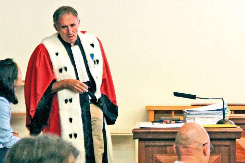 L'avocat général Christian Pasta sera la voix du ministère public lors de cette session d'assises. Archives LNC