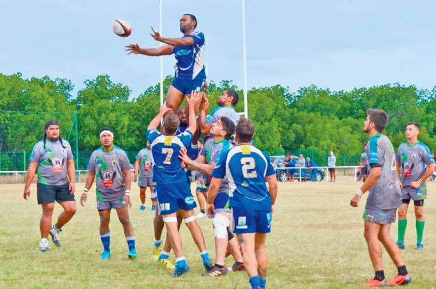 L'Olympique de Nouméa ambitionne de rester au sommet du rugby calédonien. Quand on voit la qualité du jeu produit lors des championnats à VII puis à X, ils partent avec une longueur d'avance. Photo archives LNC