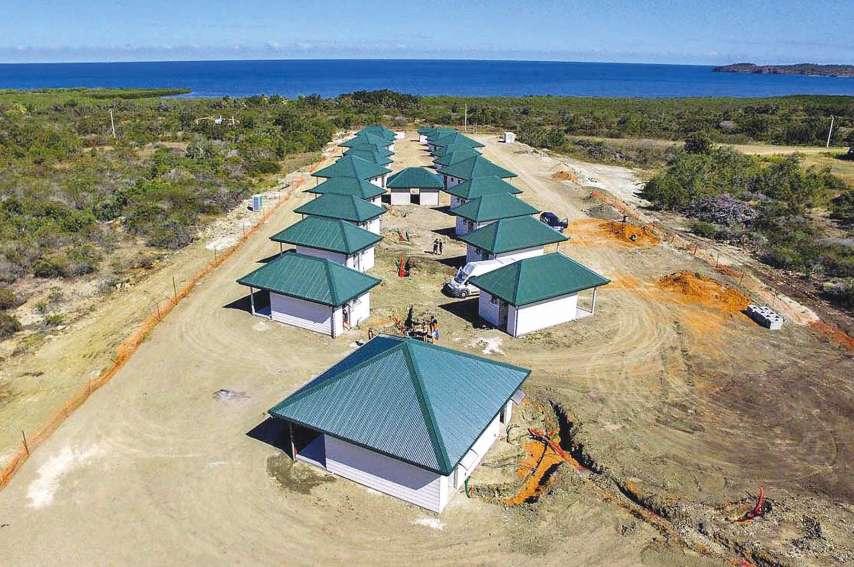 Tous les bungalows du Bed and Breakfast Karem Bay ont vue sur la mer.