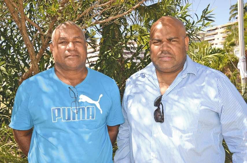 Mathias Teamboueon et Yann Moilou, les « porte-parole » de la société Bélep Fish Market.