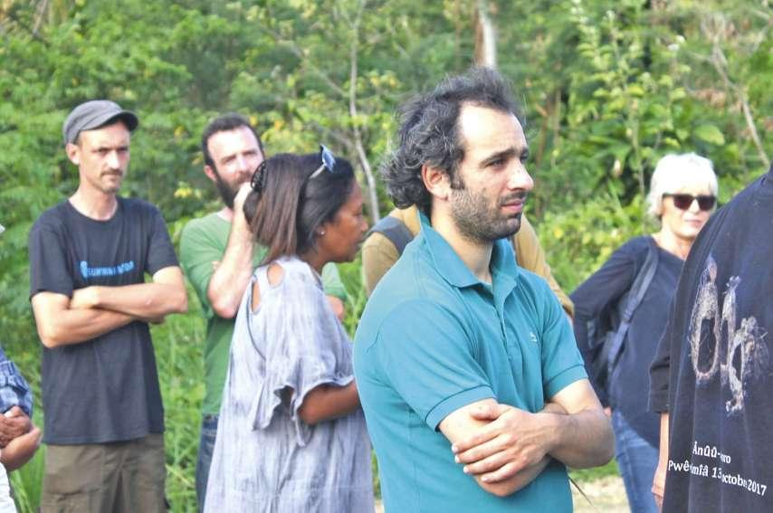 Le tournage du Taureau et l'igname à Thio « fait partie de mon identité maintenant »,  estime Martin Chouraqui, qui en œuvrant totalement seul, est parvenu à livrer un travail « intime, profond ».