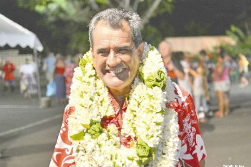 Edouard Fritch devrait être réélu le 18 mai à la tête du gouvernement.Photo Tahiti Infos