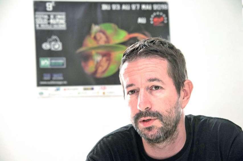 Sylvain Charrière, président de l'association Sub'Limage, organisatrice du Festival de l'image sous-marine de Nouvelle-Calédonie.Photo Julien Cinier