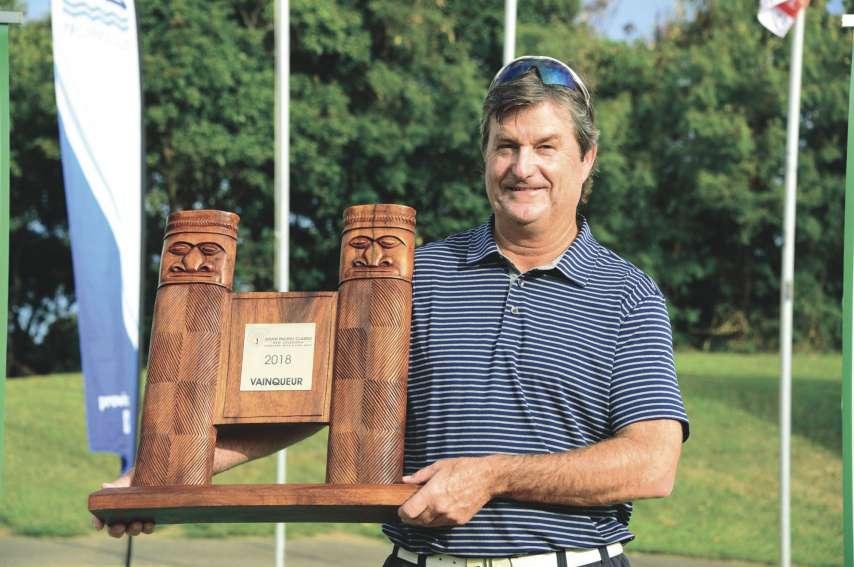 Tim Elliott succède à Peter Senior au palmarès du South Pacific Classic.Photo Corine Ha-Toy
